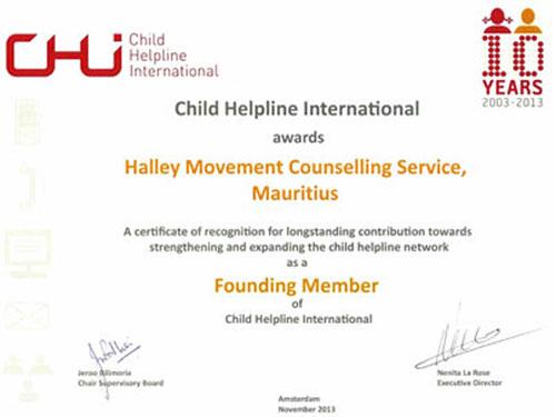 CHI-Award-Certificare