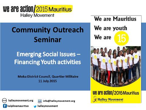 Community Outreach Seminar
