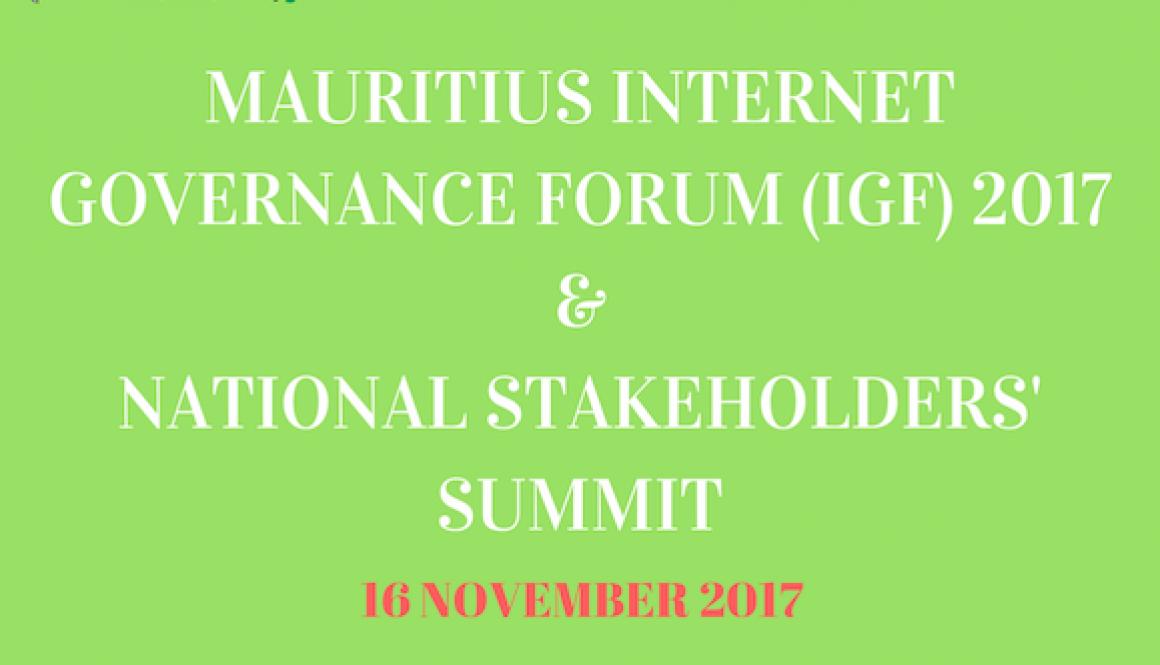 IGF stakeholders summit 2017
