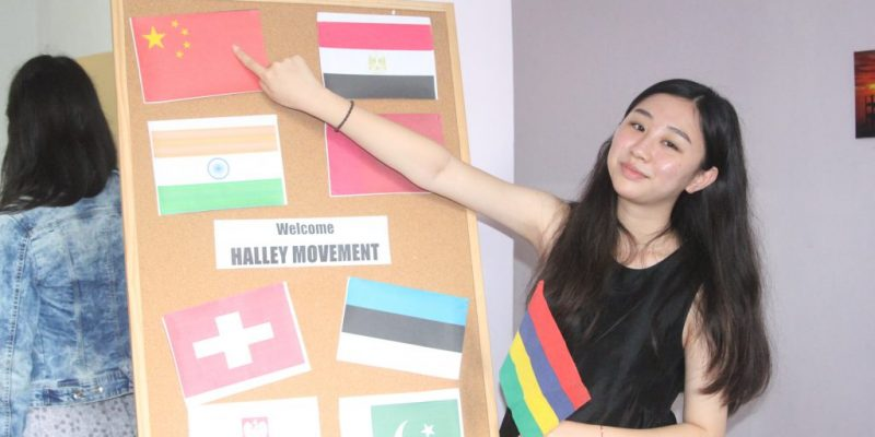 Halley movement all countries