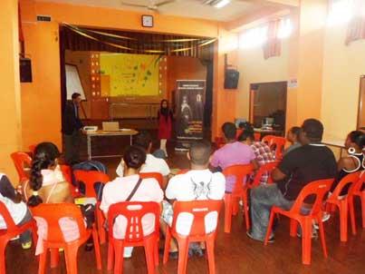 Workshop at Rose Hill